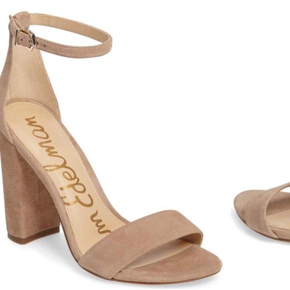 cace36b4948a Sam Edelman Yaro ankle strap sandal heels Sz 10. M 5afb297136b9dee13327aaca